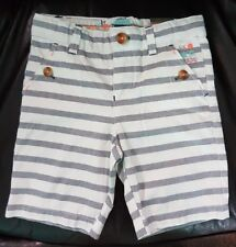 Sergent Major Toddler Boy Shorts Striped 3T NWT