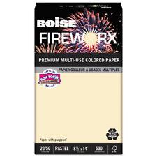 FIREWORX Premium Multi-Use Paper, 20lb, 8.5 x 14, Flashing Ivory, 500/Ream
