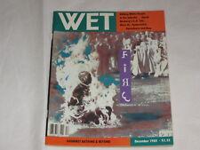 WET magazine December 1981 Issue 28 - Fire Issue - Words Elicit Terror