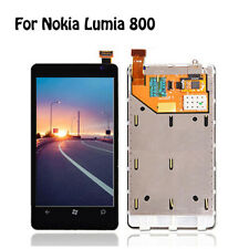 For Nokia Lumia 800 LCD Display Touch Digitizer Screen Assembly Frame uk seller