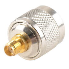 N Type Male Plug to SMA Female Jack RF Coaxial Adapter Converter Connector Kit