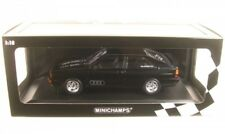 Minichamps AUDI Quattro 1980 Black Metallic Limited Edition Model Car 1 18