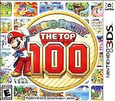NINTENDO 3DS MARIO PARTY THE TOP 100 MINIGAMES BRAND NEW FACTORY SEALED