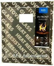 CALFIRE REPLACEMENT STOVE GLASS PARKRAY 111 (400mm x 256mm)