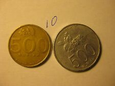 INDONESIA COINS  DIFFERENT