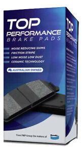 Front Disc Brake Pads TP by Bendix DB1402TP for Proton Ipan Waja Smart Forfour