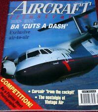 Aircraft Illustrated Magazine 1994 April Portugal,Brymon,X-31,Dishforth,Tornado