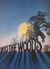 "Bernadette Peters  ""Into The Woods""  Souvenir Program 1987  Broadway  Sondheim"