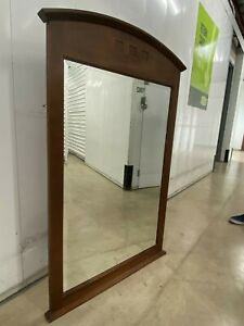 Ethan Allen American Dimensions Arched Mirror Natural Finish 15-5300