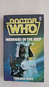Doctor Who-Warriors of the Deep by Terrance Dicks (Paperback,1984) - 1st Edition