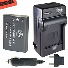 NP-95 NP95 Battery & Charger for Fujifilm FinePix X30 X100 X100S X-S1