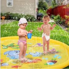 Sprinkler Splash Pad Play Mat Center Toddler Pool Water Toy Outdoor Fun Ring