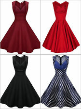Unbranded Plus Size Spotted Sleeveless Dresses for Women