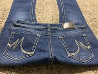 MAURICES BOOTCUT WOMENS DESIGNER JEANS SIZE 6 SHORT
