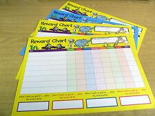 Para niños niños recompensa gráficos, Plus Extra pegatinas! - Tabla - ** 2015 **