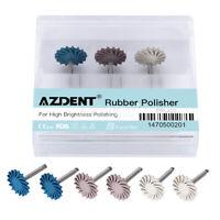 Dental Composite Polishing Diamond System RA Disc 14mm Wheel Rubber Polisher