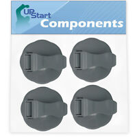 4 Pack Replacement Flip Top To-Go Lid for NutriBullet 600W Blender Cups