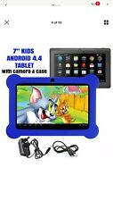 7 inch android tablet with Blue Case kids