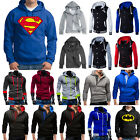 Mens Hoodie Sweatshirt Hooded Pullover Jumper Winter Coat Jacket Sweater Outwear