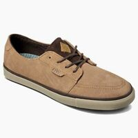 Reef Mens 10 Banyan 2 SE Brown Chocolate Sneaker Suede Rubber Outsole MSRP $80