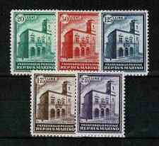 "SAN MARINO STAMP YVERT 159-163 "" NEW POST OFFICE BUILDING 1932 SET "" MNH VF V266"