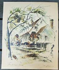 John Haymson Raleigh Tavern Print