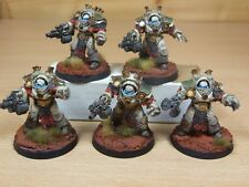 5 FORGEWORLD DEATH GUARD GRAVE WARDENS VERY WELL PAINTED (1321)