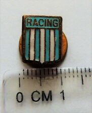 Racing Club de Avellaneda Buenos Aires crest badge pin anstecknadel buttonhole