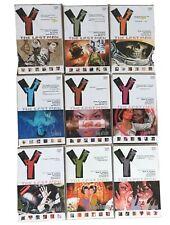 Y: The Last Man TPB Lot - Vol 1-9 (2003, DC Vertigo) Brian Vaughan