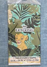 New Disney Lion King Plastic Tablecover Tablecloth