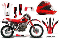 AMR Racing Honda XR600R Graphic Decals Number Plate Kit Stickers 91-00 CARBONX R