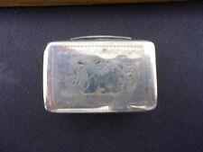 Sterling Silver Antique Vinaigrette Box Georgian c.1830 England by Thomas Shaw
