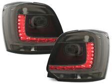 VW Polo 6R LED Rückleuchten Schwarz-Smoke Glas Bj.2009-14 /europ.zugel. RV46ELS