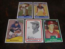 1979-1984 TCMA---Minor League Baseball---Lot Of 5---See List---NrMt