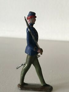 ANTIQUE SOLDIER GRENADIERS TOY - HAND PAINTED