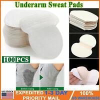 Hot 100pcs Underarm Armpit Sweat Pads Stickers Shield Guard Absorbing Disposable