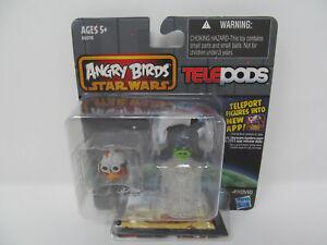 Angry Birds Star Wars Telepods Anakin Skywalker Bird Emperor Palpatine Pig New