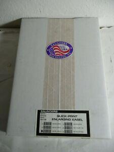 "NEW GENUINE SAUNDERS 8 X 10"" QUICK-PRINT ENLARGING EASEL 106-081 (QP810), USA"