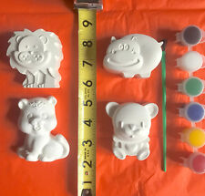 10 bags ZOO animal party favors to pait. Creative.DIY, birthday. class, school.
