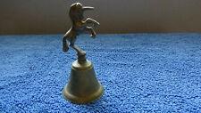 Vintage Brass Unicorn Bell