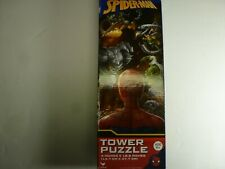 Marvel Spider-man 50-Piece Tower Puzzle 5 x 18.8 IN New