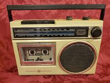 Vintage General Electric GE AM / FM Cassette Player / Recorder Model 3-5240-C