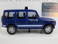 """Busch 51460 Mercedes-Benz G-Klasse (2008) """"THW"""" in blau/weiß 1:87/H0 NEU/OVP"""