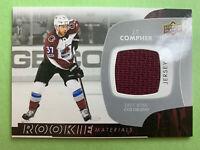 2017-18 Upper Deck Rookie Materials Jersey #RM-JC J.T. Compher Colorado RC Patch