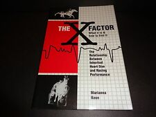 THE X FACTOR -WHAT IT IS, HOW TO FIND IT by Marianna Haun 1997 Softcover