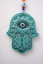 Hamsa Colgante De Pared, Mano de Fatima, Decoración De Pared, mal de ojo amuleto, Fatimas mano
