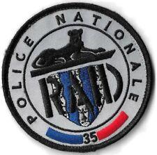 Ecusson POLICE NATIONALE R.A.I.D ANTENNE RENNES 35