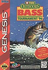 TNN Outdoors Bass Tournament '96 for Sega Genesis NIB