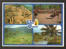 """COTE OUEST (CALEDONIE) COW-BOY / MINE à CIEL OUVERT / BAC au FLEUVE """"LE DIAHOT"""""""