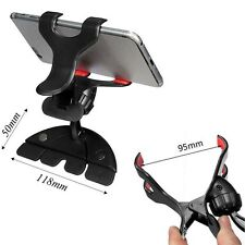 Universal Auto Car CD Slot Mount Bracket Clip Holder for iPhone Cell Phone GPS